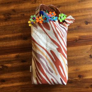 SturKnopf Tasche braune Streifen