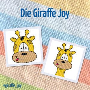 Produktbild Plotterdatei Giraffe Joy