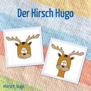 Produktbild Plotterdatei Hirsch Hugo