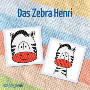 Produktbild Plotterdatei Zebra Henri