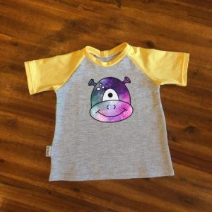 SturKnopf T-Shirt Beispiel Alien SamSpacy